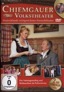Chiemgauer Volkstheater: Der Vatertagsausflug / Weihnachten im Polizeirevier, DVD