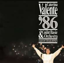 Caterina Valente: Caterina Valente '86 & The Count Basie Orchestra (180g) (45 RPM), 2 LPs