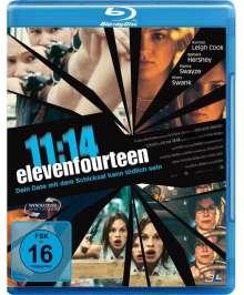 11:14 Elevenfourteen (Blu-ray), Blu-ray Disc