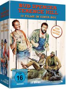Bud Spencer & Terence Hill Box, 10 DVDs