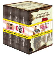 Bud Spencer & Terence Hill Monsterbox Extended, 22 DVDs