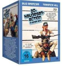 Bud Spencer & Terence Hill - 20x Haudegen-Action (Blu-ray), 20 Blu-ray Discs