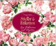 Stickerbuch - Jane Austen (M. Bastin) - Sticker und Etiketten, Buch