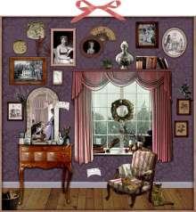 Susan Niessen: Zettelkalender - Weihnachten mit Jane Austen, Kalender