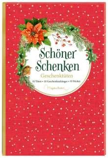 Geschenktüten-Buch - Schöner schenken (M. Bastin), Buch