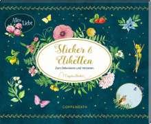 Stickerbuch - Zeitlos schön - Sticker und Etiketten (Marjolein Bastin), Buch