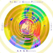 A.R. & Machines (Achim Reichel): The Art Of German Psychedelic 1970 - 1974, 10 CDs