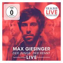 Max Giesinger: Der Junge, der rennt (Live), 1 CD und 1 DVD