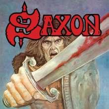 Saxon: Saxon (Blue W/ Red Splatter Vinyl), LP