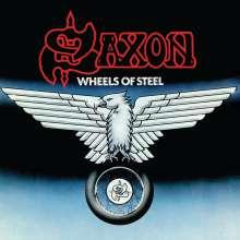 Saxon: Wheels Of Steel (Limited-Edition) (Swirl Vinyl), LP