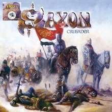 Saxon: Crusader (Limited-Edition) (White, Black & Blue Splatter Vinyl), LP