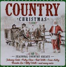 Country Christmas: 60 Seasonal Country Greats (Limited-Edition), 3 CDs