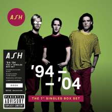 """Ash: '94 - '04: The 7'' Singles Box Set (Limited-Numbered-Edition), 10 Singles 7"""""""