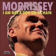 Morrissey: I Am Not A Dog On A Chain (Indie Retail Exclusive) (Transparent Red Vinyl), LP