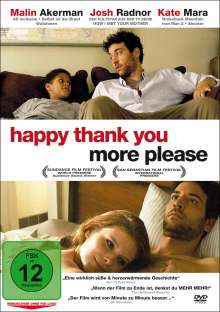 Happy thank you more please, DVD