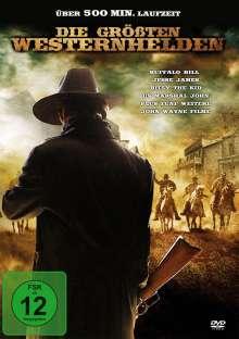 Die größten Westernhelden, 2 DVDs
