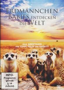 Erdmännchen-Babies entdecken die Welt, DVD