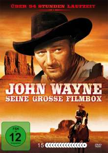 John Wayne - Seine Grosse Filmbox, 15 DVDs