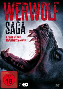 Werewolf Saga (6 Filme auf 2 DVDs), 2 DVDs