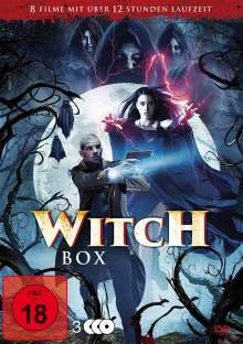 Witch Box (8 Filme auf 3 DVDs), 3 DVDs