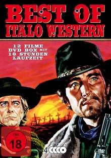 Best of Italo Western (12 Filme auf 4 DVDs), 4 DVDs
