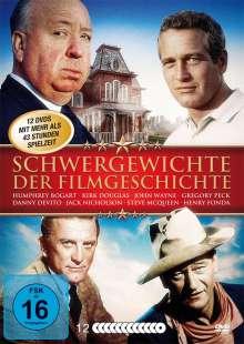 Schwergewichte der Filmgeschichte (28 Filme), 12 DVDs