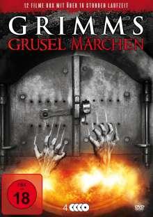 Grimms Grusel Märchen (12 Filme auf 4 DVDs), 4 DVDs