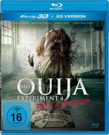 Das Ouija Experiment 4 (3D Blu-ray), Blu-ray Disc