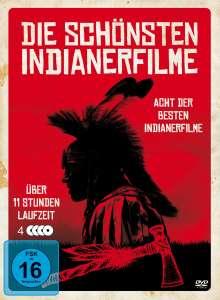 Die schönsten Indianerfilme (8 Filme auf 4 DVDs), 4 DVDs
