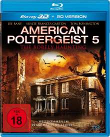 American Poltergeist 5 - The Borely Haunting (3D Blu-ray), Blu-ray Disc