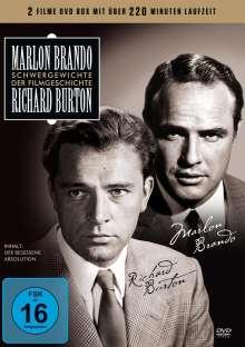 Schwergewichte der Filmgeschichte: Marlon Brando / Richard Burton, DVD