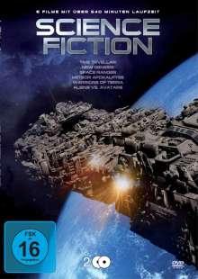 Science Fiction - Box (6 Filme auf 2 DVDs), 2 DVDs