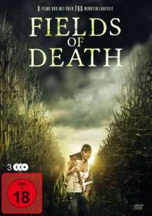Fields of Death (9 Filme auf 3 DVDs), 3 DVDs