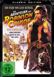 Die Abenteuer des Robinson Crusoe, DVD