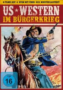 US Western im Bürgerkrieg (9 Filme auf 4 DVDs), 4 DVDs