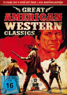 Great American Western Classics (15 Filme auf 6 DVDs), 6 DVDs