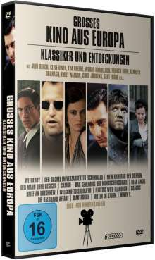 Grosses Kino aus Europa - Klassiker und Entdeckungen (15 Filme auf 6 DVDs), 6 DVDs