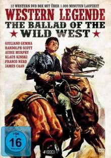 Western Legende - The Ballad of Wild West (12 Filme auf 4 DVDs), 4 DVDs