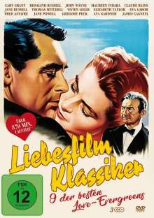 Liebesfilm Klassiker (9 Filme auf 3 DVDs), 3 DVDs