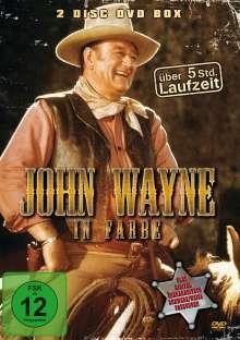 John Wayne in Farbe (6 Filme auf 2 DVDs), 2 DVDs