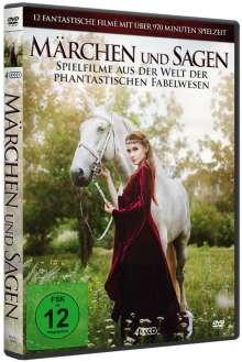 Märchen und Sagen (12 Filme auf 4 DVDs), 4 DVDs