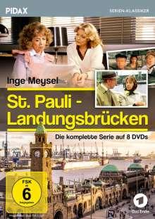 St. Pauli Landungsbrücken (Komplette Serie), 8 DVDs