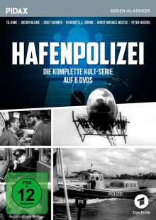 Hafenpolizei (Komplette Serie), 6 DVDs