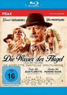 Die Wasser der Hügel (Jean Florette / Manons Rache) (Blu-ray), Blu-ray Disc