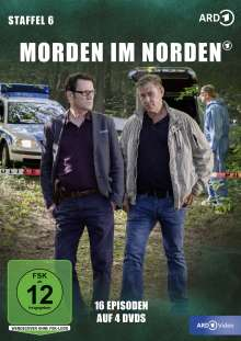 Morden im Norden Staffel 6, 4 DVDs