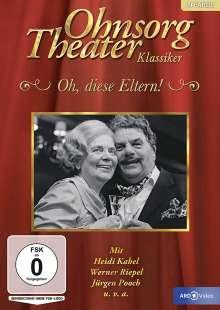 Ohnsorg Theater: Oh, diese Eltern!, DVD