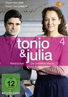 Tonio & Julia 4: Nesthocker / Der perfekte Mann, DVD
