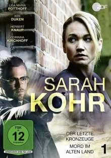 Sarah Kohr 1: Der letzte Kronzeuge / Mord im Alten Land, DVD