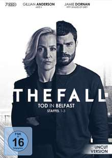 The Fall - Tod in Belfast Staffel 1-3, 7 DVDs