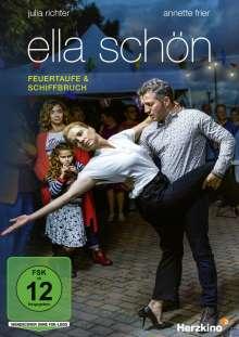 Ella Schön: Feuertaufe / Schiffbruch, DVD